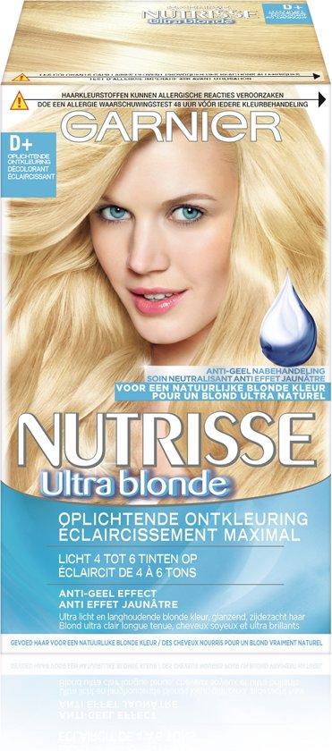 Garnier Nutrisse Truly Blond D+ - Ontkleuring - Haarverf