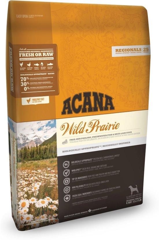 Acana regionals wild prairie dog hondenvoer 2 kg