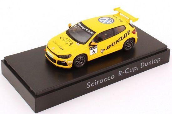 Spark 1/43 VW Volkswagen Scirocco R Cup Dunlop
