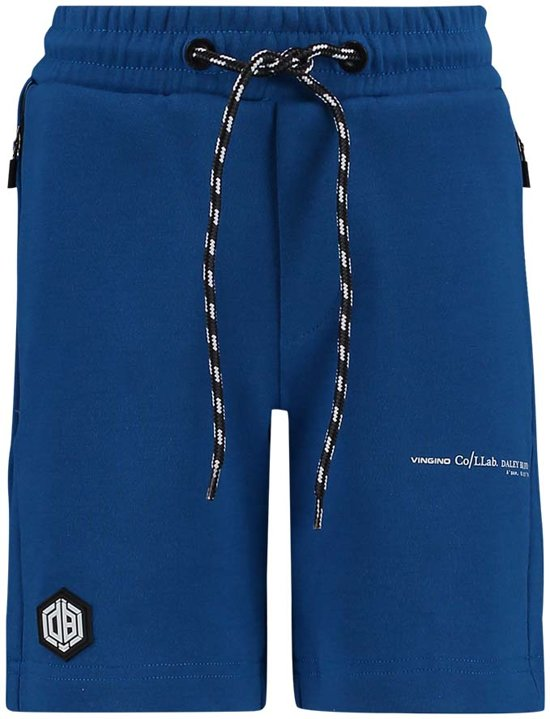 Vingino Jongens Daley Blind collectie Short - Pool Blue - Maat 110