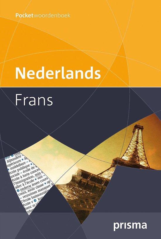 Prisma pocketwoordenboek Nederlands-Frans - H.W.J. Gudde