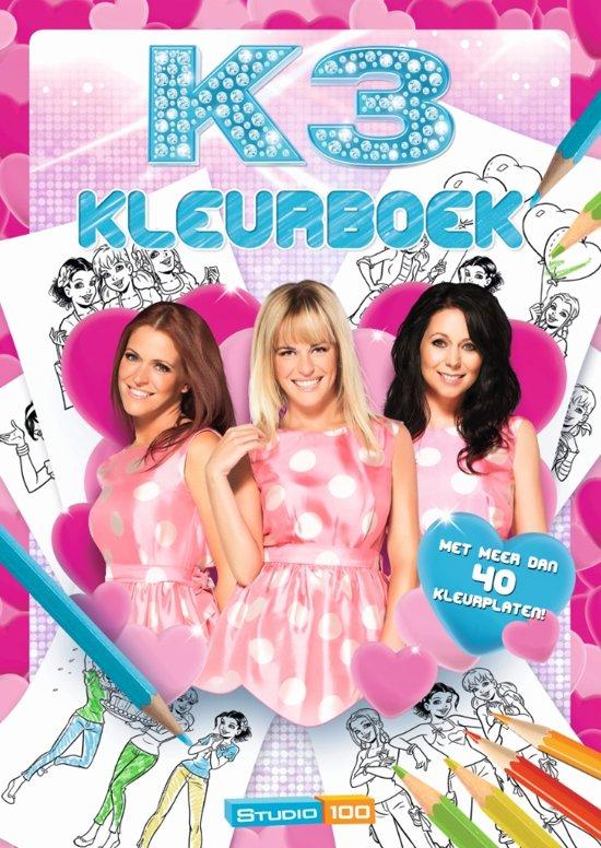 Kleurplaten Van K3 Bengeltjes.Bol Com K3 Kleurboek Roze Jurkjes K3 Speelgoed