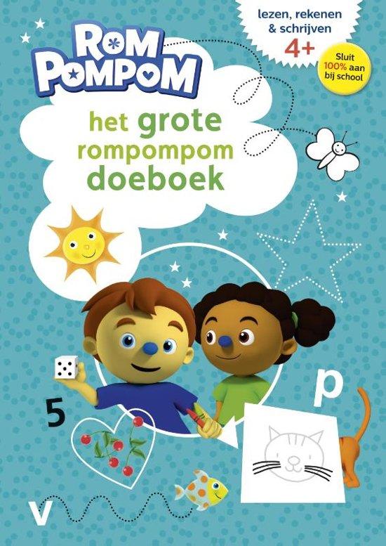 Boek cover Rompompom - Het grote Rompompom doeboek van  (Paperback)
