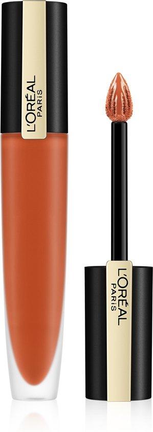 L'Oréal Paris Rouge Signature Lippenstift - 112 Achieve - Matte Vloeibare Lipstick - 7 ml