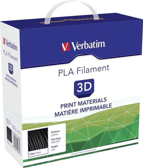 Verbatim 55276 PLA-filament 2.85 mm 1 kg - Zwart