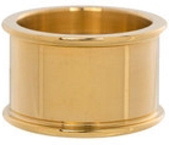 IXXXI Basisring goudkleurig 12mm - maat 20,5