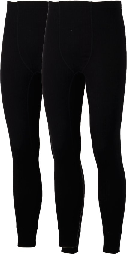 Avento Basic Thermo (2-pack) - Sportbroek - Mannen - Maat XL - Zwart