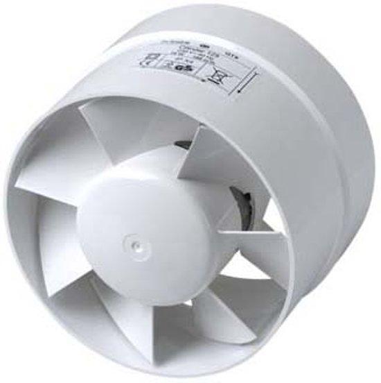 Vent,188M3 Ø125Mm Plieger-Cilinder Wit