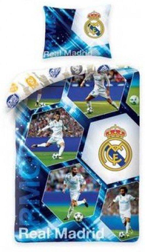 Real Madrid Stars Dekbedovertrek - Eenpersoons - 140x200 cm - Multi