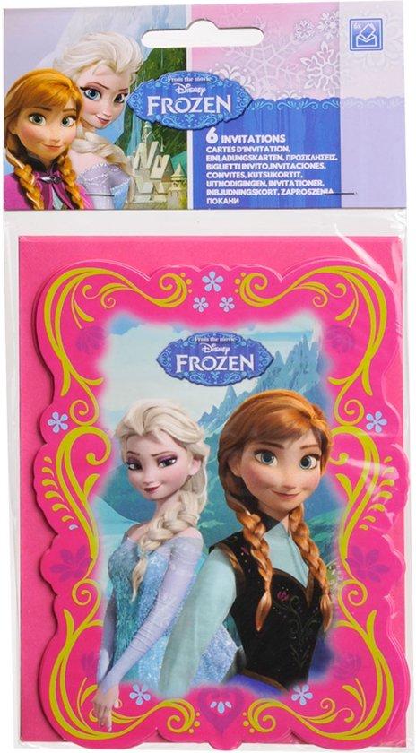 Geliefde bol.com   Set van Frozen™ uitnodigingen - Feestdecoratievoorwerp &YH66