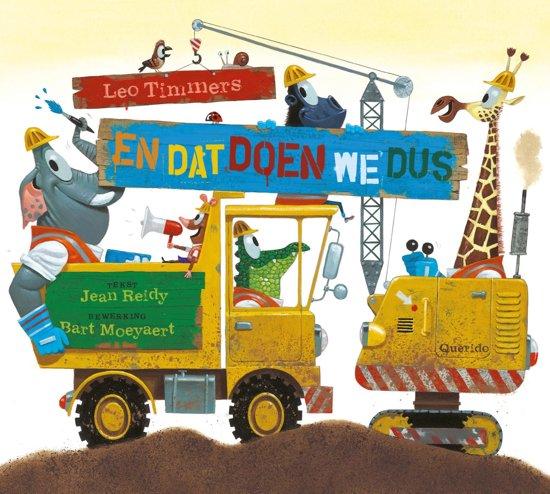 Boek cover En dat doen we dus van Jean Reidy (Hardcover)