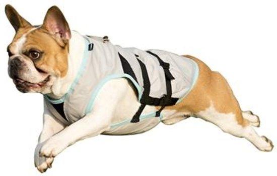 Suitical dry cooling vest hond zilver s 35-60x55-70 cm