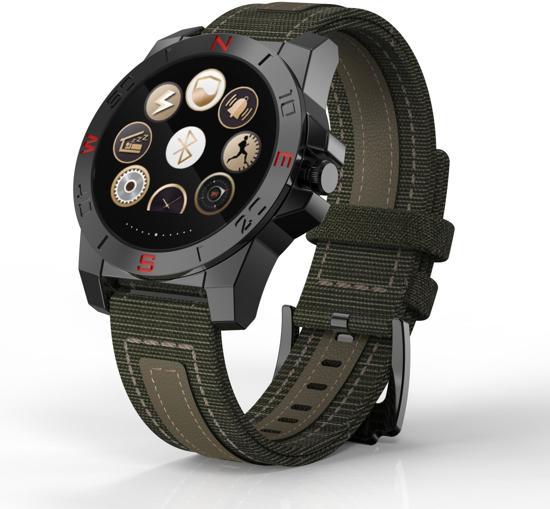 SmartWatch-Trends SWT10 - Smartwatch - Zwart/Groen