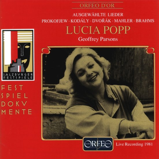 Lucia Popp Singt Lieder, Live Recording 1981