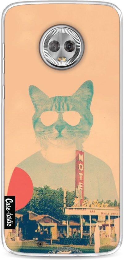 Casetastic Softcover Motorola Moto G6 - Cool Cat