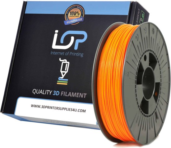 IOP PLA 1,75mm Orange 500gr