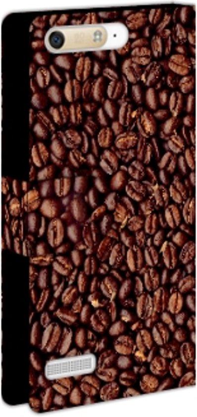 Huawei Ascend G6 Uniek Boekhoesje Koffiebonen in Beek