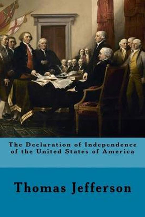 Bol The Declaration Of Independence Of The United States Of
