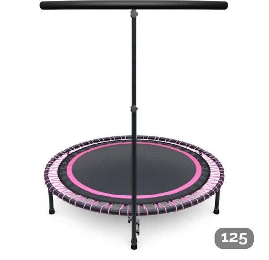 Fitness trampoline roze