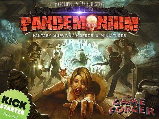 Pandemonium Kickstarter Bordspel (Engelse Versie)