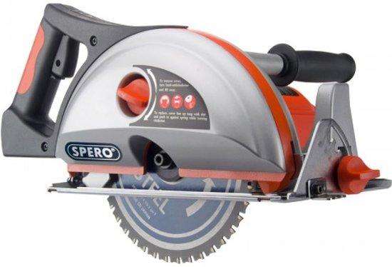 Spero Staal cirkelzaag SPC200 1700Watt - diepte 67mm - 200mm zaagblad