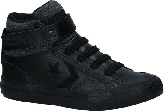 97b04facefeee8 Converse Pro Blaze Strap Zwarte Sneakers