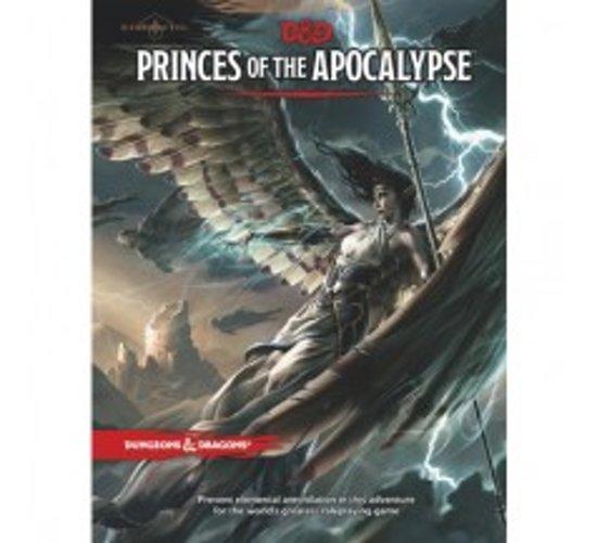 D&D 5.0 - Princes of the Apocalypse TRPG