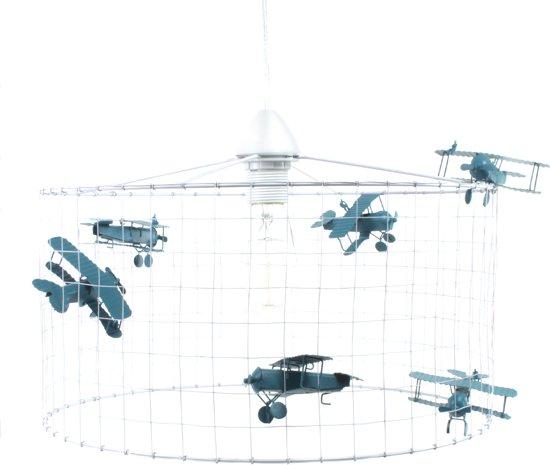 Extreem bol.com | Vliegtuiglamp Hanglamp-Kinderkamer-Babykamer-Speelkamer PK51