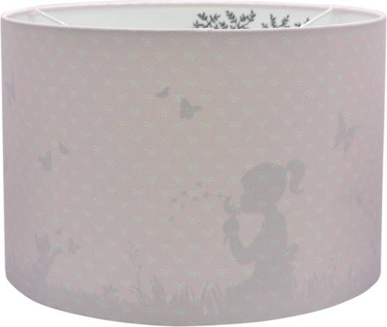 Hanglamp Silhouet Dandelion Roze, Roze kinderkamer schaduw lamp