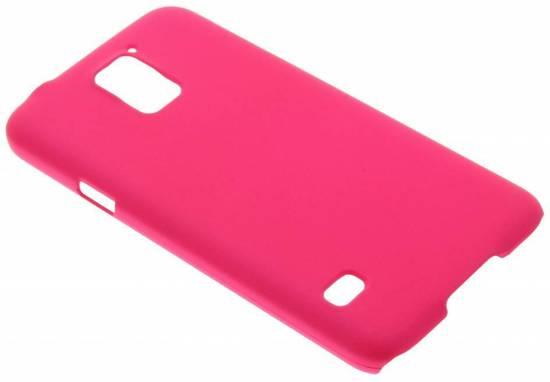 Fuchsia Simple Couverture Étui Rigide Pour Samsung Galaxy S Grand Premier OEKdu