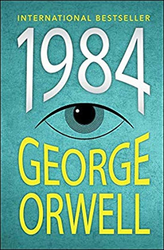 Boek cover 1984 van George Orwell (Hardcover)