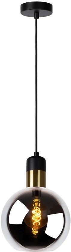 Lucide JULIUS - Hanglamp - Ø 20 cm - E27 - Fumé