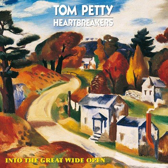 CD cover van Into The Great Wide Open van Tom Petty and the Heartbreakers