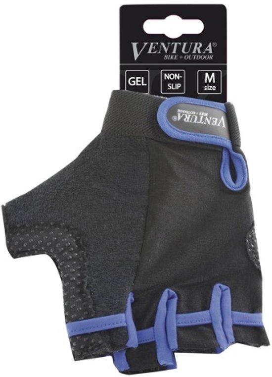 Ventura Gel - Fietshandschoen - Unisex - Blauw - Maat M