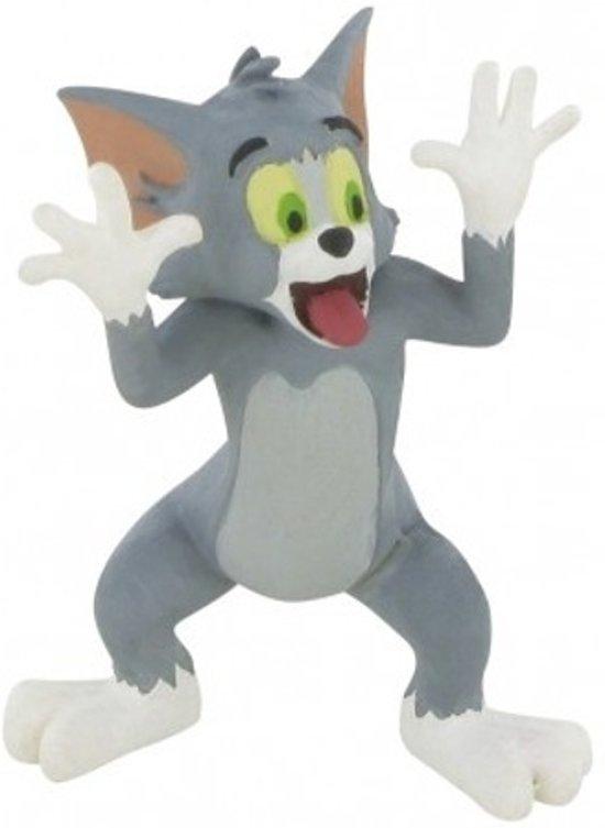 Afbeelding van Comansi Speelfiguur Tom & Jerry mockery 6 Cm Grijs speelgoed