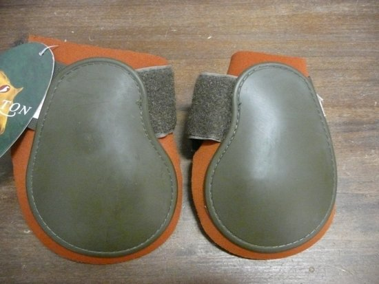 Norton strijklappen full groen/oranje
