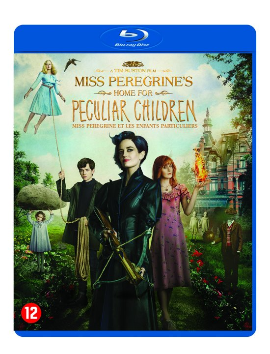 DVD cover van Miss Peregrines Home For Peculiar Children (Blu-ray)