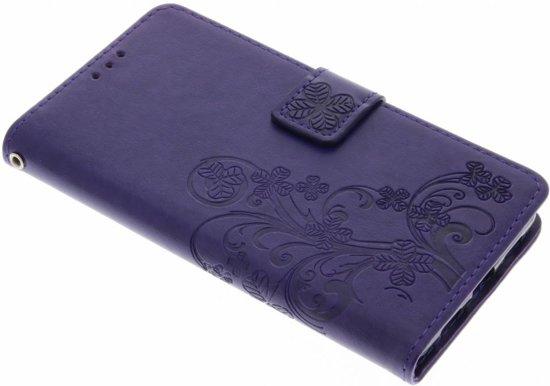 Fleurs De Trèfle Noir Case Pour Booktype Lite Huawei P9 pBtu5Og