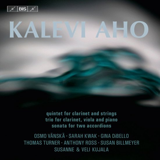 Aho: Quintet For Clarinet And Strings