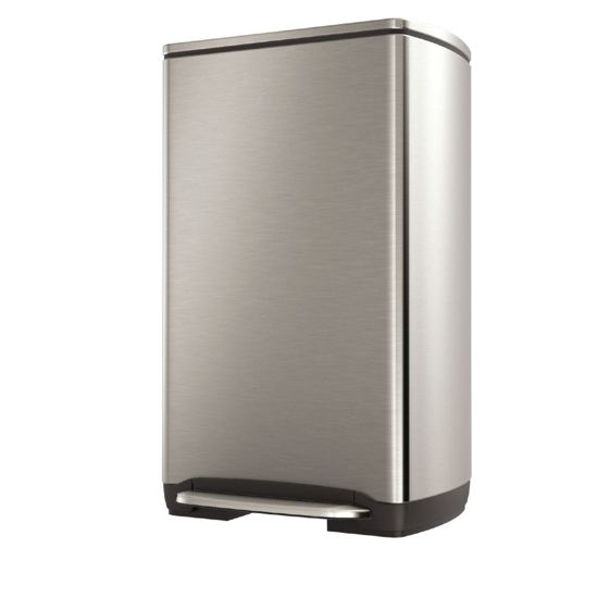 Simplehuman Rectangular New Generation Pedaalemmer - 38 l - Grijs
