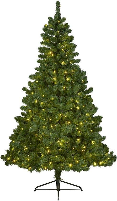 everlands imperial pine kunstkerstboom 180 cm hoog met verlichting met twinkel functie