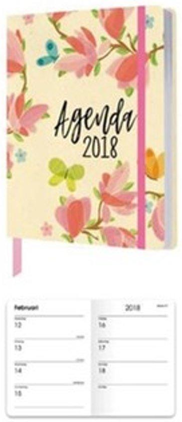 Agenda 2018 A6 15 Maanden Elastiek Papercraft