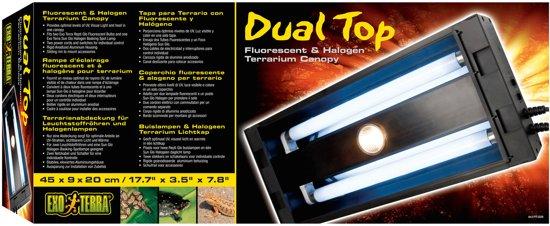 Exo Terra Dual Top - 45 x 9 x 20 cm
