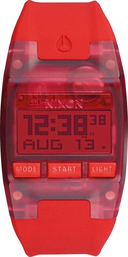 Nixon A336191 Comp S all red - Horloge - 31mm - rood