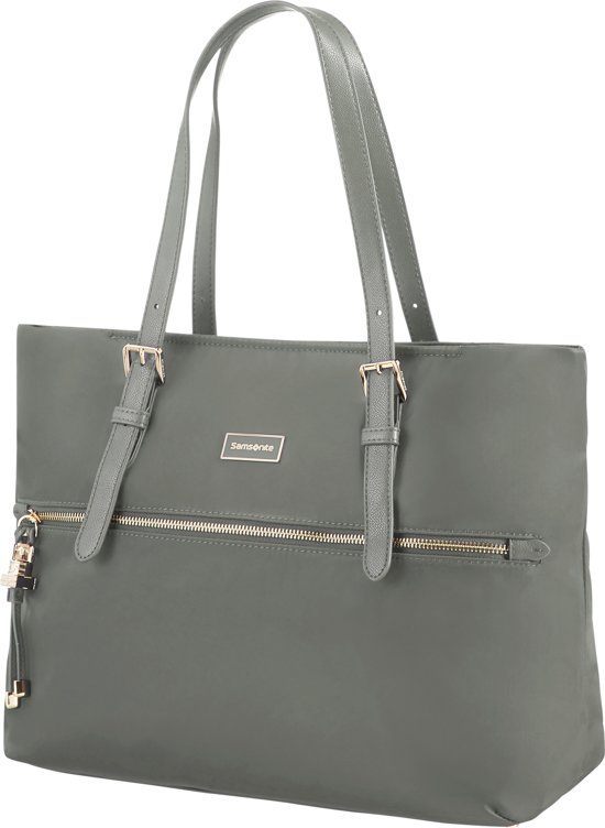 f8e39cd055d bol.com | Samsonite Shopper - Karissa Shopping Bag M Gunmetal Green