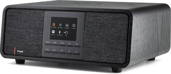 Pinell SUPERSOUND 501 radio Persoonlijk Analoog & digitaal Zwart