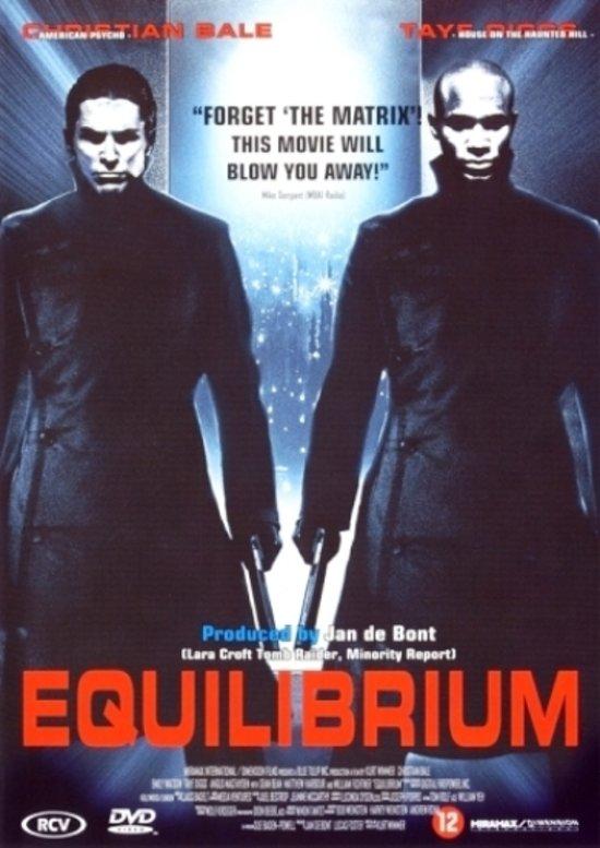 Cover van de film 'Equilibrium'