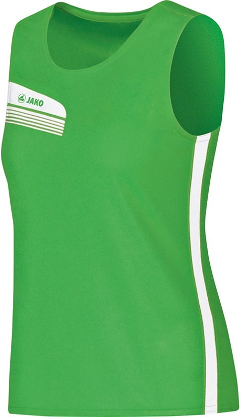 Jako - Tank top Athletico Women - zachtgroen/wit - Maat 38