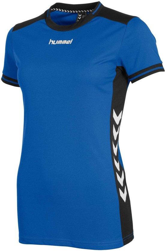 Hummel Lyon Dames Shirt - Voetbalshirts  - blauw kobalt - L
