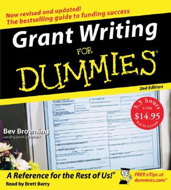 grant writing for dummies free download